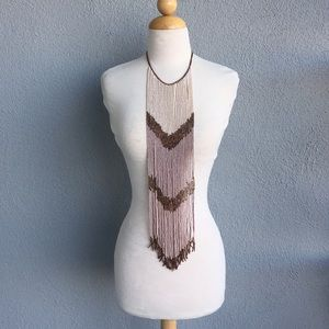 Jewelry - Vintage Long Beaded Necklace